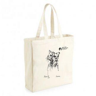Max Sketch Canvas Shopper