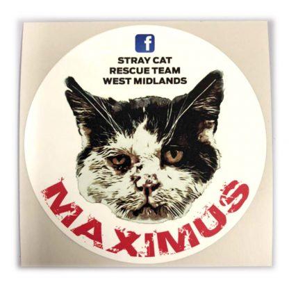 Maximus Sticker