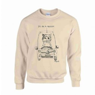 Max on a Mission Sweatshirt