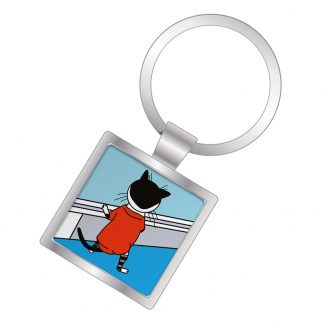 Maximus - Mr Nosey Square Keyring